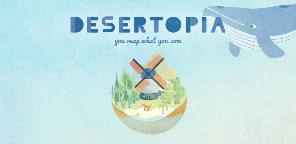 DESERTOPIA 3.2.1 دانلود بازی شبیه سازی جزیره برای اندروید + مود