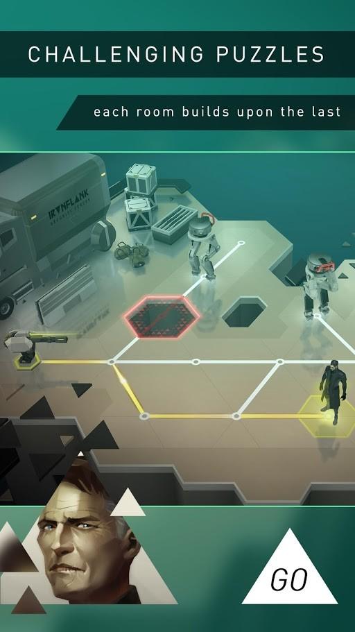 Deus Ex GO 2.1.111374 دانلود بازی پازل و معمایی اندروید + مود + دیتا