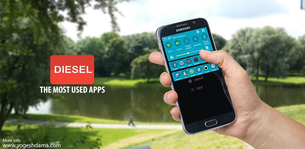 DIESEL Pro : App Switcher 3.4 دسترسی آسان به برنامه ها اندروید