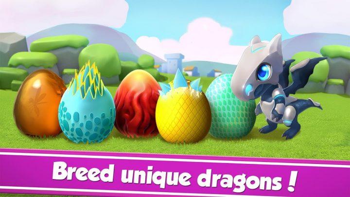 Dragon Mania Legends 4.5.0r دانلود بازی افسانه های اژدها اندروید