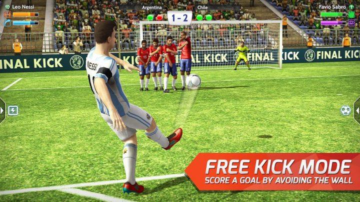Final kick 8.1.4 دانلود بازی پنالتی فوتبال ضربه نهایی اندروید + مود + دیتا