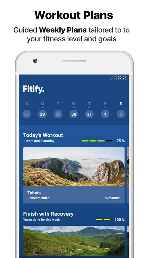 Fitify Workouts & Plans FULL 1.0.14.1 دانلود برنامه ورزشی تناسب اندام اندروید