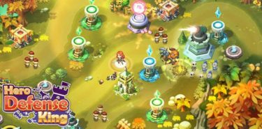 Hero Defense King 1.0.22 دانلود بازی پادشاه برج دفاعی اندروید + مود