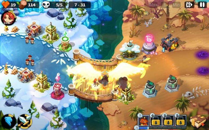 Hero Defense King 1.0.29 دانلود بازی پادشاه برج دفاعی اندروید + مود