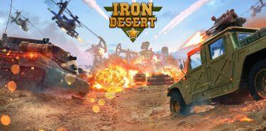Iron Desert – Fire Storm 6.1 دانلود بازی طوفان صحرا اندروید