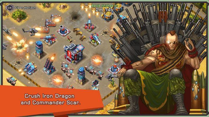 Iron Desert – Fire Storm 6.3 دانلود بازی طوفان صحرا اندروید