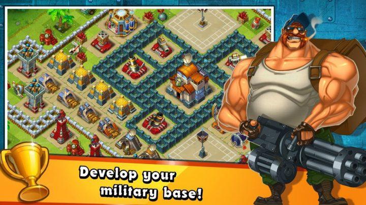 Jungle Heat 2.1.3 دانلود بازی رهبری ارتش در جنگل اندروید