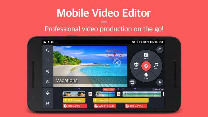 KineMaster Pro – Video Editor Full 4.6.8.11413.GP Final ویرایش فیلم اندروید