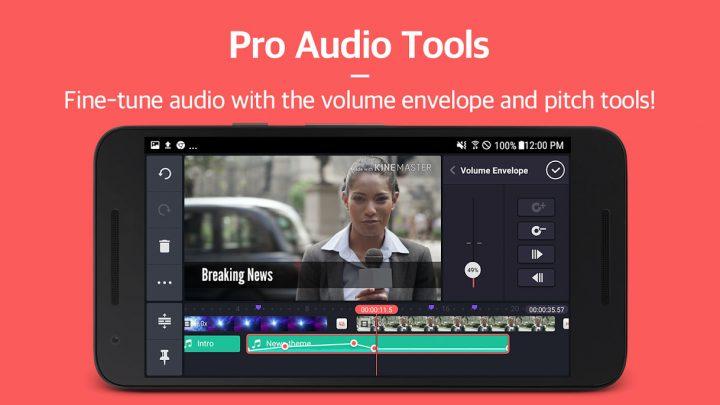 دانلود برنامه KineMaster Pro Video Editor 5.0.1.20940 – ویرایش فیلم اندروید