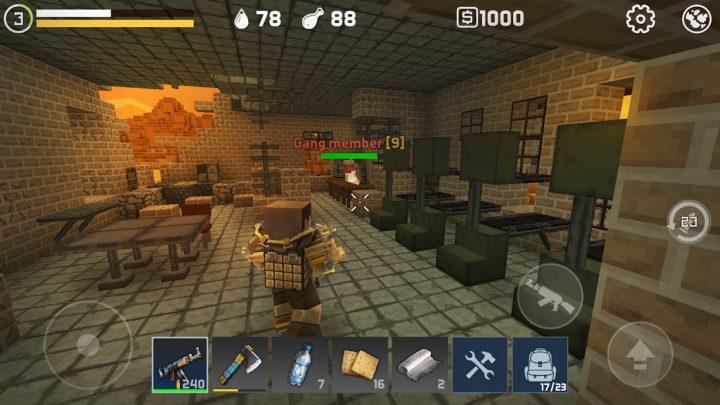 LastCraft Survival 1.10.4 دانلود بازی اکشن آخرین بقا اندروید + مود