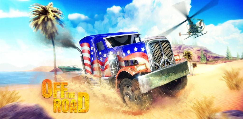 دانلود Off The Road – OTR Open World Driving 1.5.1 بازی آفرود اندروید + مود