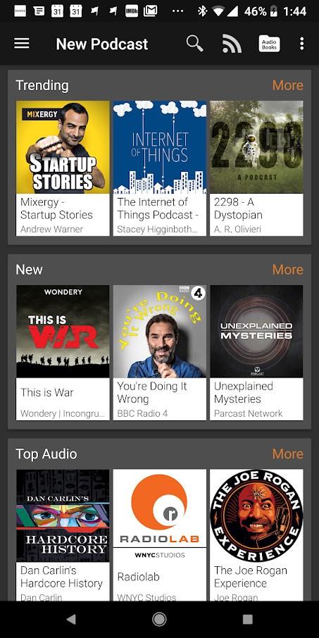 دانلود Podcast Addict Donate 2020.2 – برنامه مدیریت پادکست اندروید