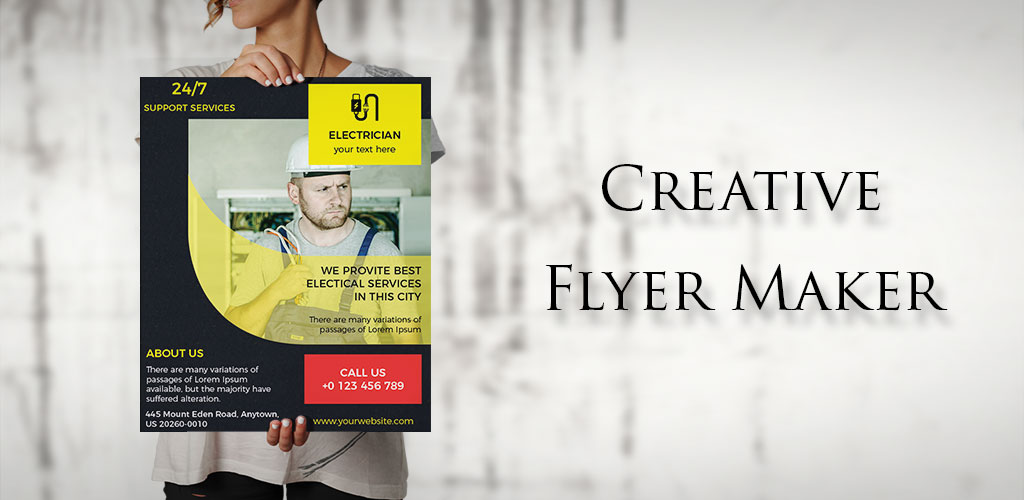 Flyers, Poster Maker, Graphic Design,Templates PRO 36.0 ساخت پوستر تبلیغاتی