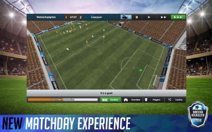 Soccer Manager 2018 1.5.8 دانلود بازی فوتبال منیجر اندروید + مود