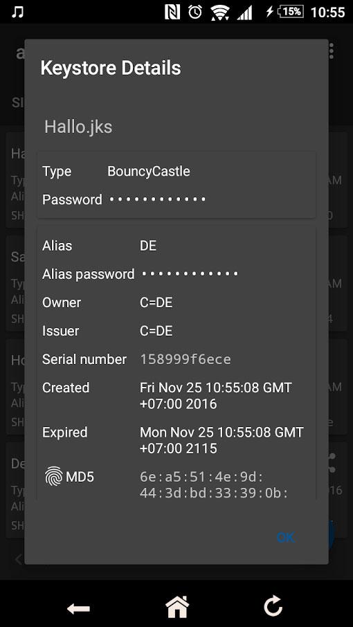 دانلود apk-signer Pro 5.8.0 برنامه ساین کردن اپلیکیشن اندروید