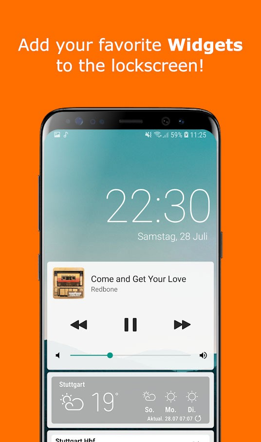 Ava Lockscreen Pro 1.20 دانلود لاک اسکرین زیبا اندروید