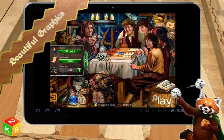 دانلود Backgammon Masters 1.7.45 Full بازی استادان تخته نرد اندروید