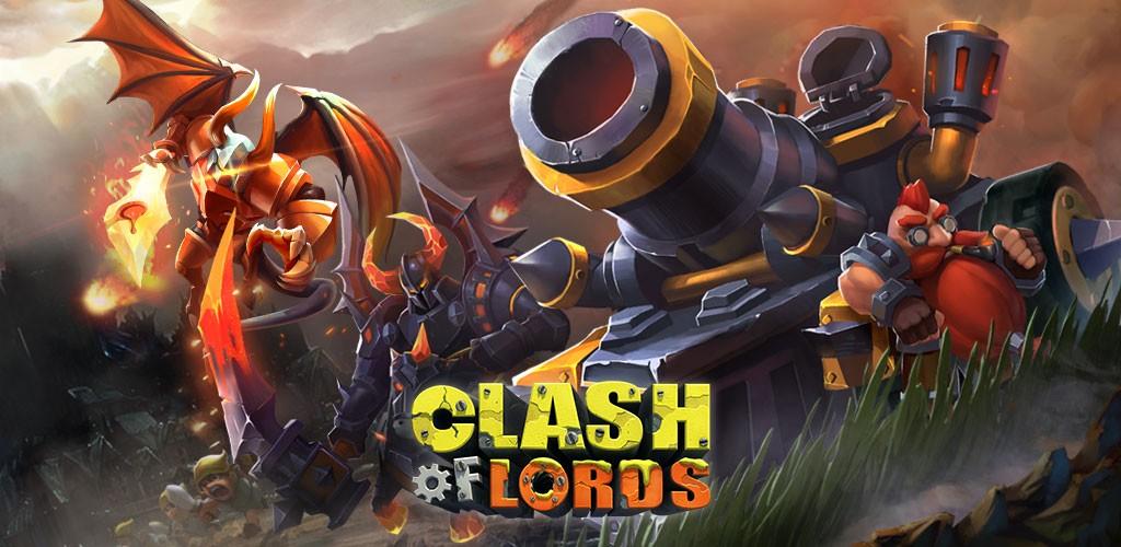 Clash of Lords 1.0.437 دانلود بازی کلش اف لورد اندروید