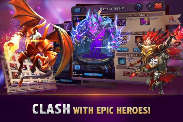 Clash of Lords 1.0.442 دانلود بازی کلش اف لورد اندروید
