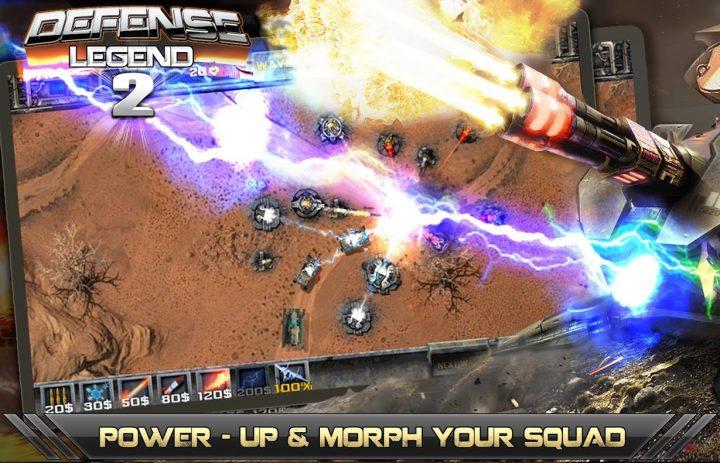 دانلود Defense Legend 2 3.4.5 – بازی افسانه دفاع 2 اندروید + مود