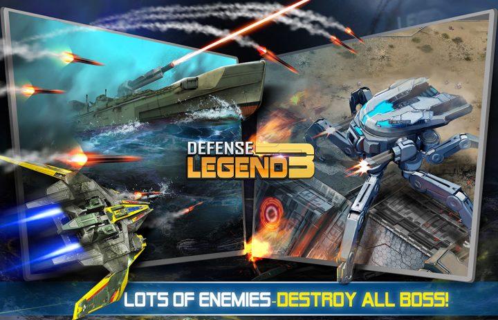 دانلود Defense Legend 3 2.6 بازی افسانه دفاع 3 اندروید + مود