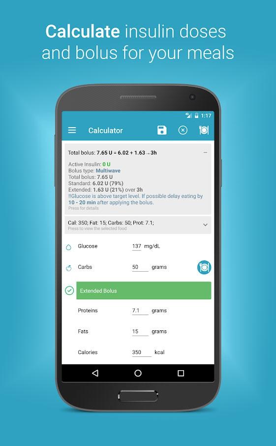 Diabetes:M Premium 7.0.8 دانلود نرم افزار کنترل دیابت و قند خون