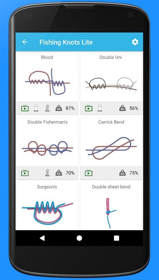 Fishing Knots Pro 5.18.0621.02 روش بستن گره قلاب ماهیگیری اندروید