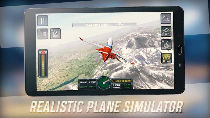 Flight Sim 2018 1.2.9 دانلود بازی شبیه ساز پرواز اندروید + مود