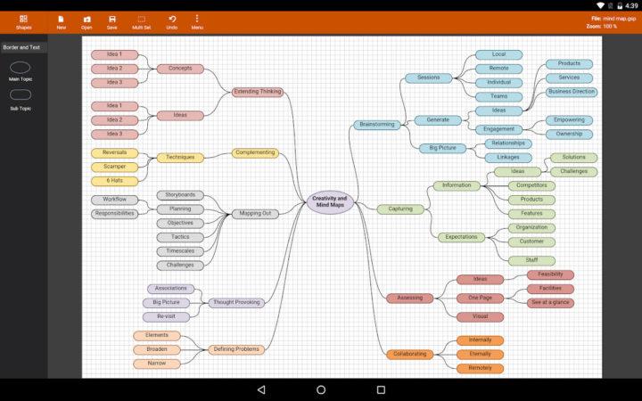 Flowdia Diagrams 1.9.3 دانلود برنامه رسم فلوچارت در اندروید