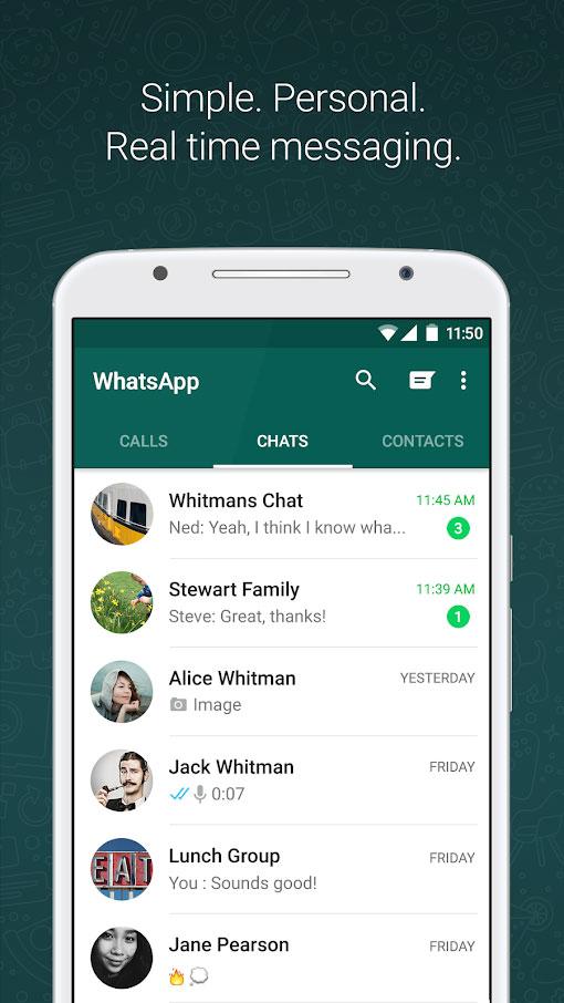 GBWhatsApp 6.65 دانلود ورژن جدید جی بی واتساپ + پلاس