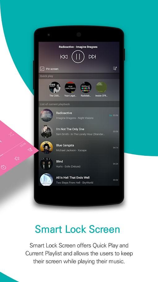 دانلود GOM Audio Plus 2.3.9 برنامه موزیک پلیر فوق العاده اندروید