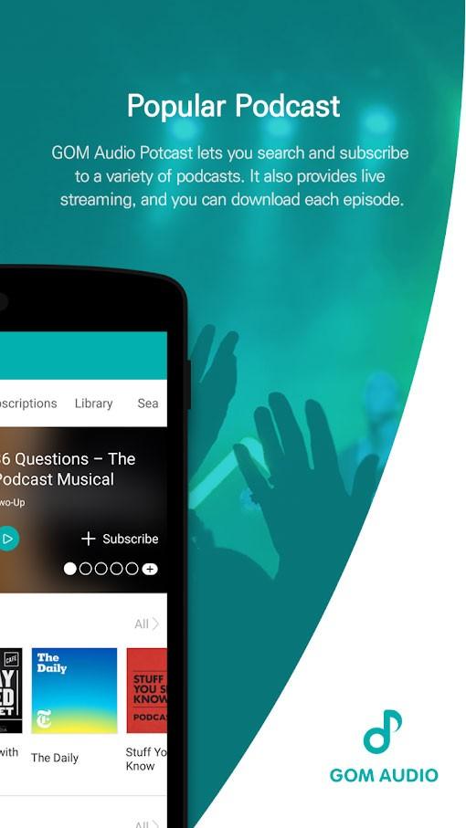 دانلود GOM Audio Plus 2.3.5 برنامه موزیک پلیر فوق العاده اندروید