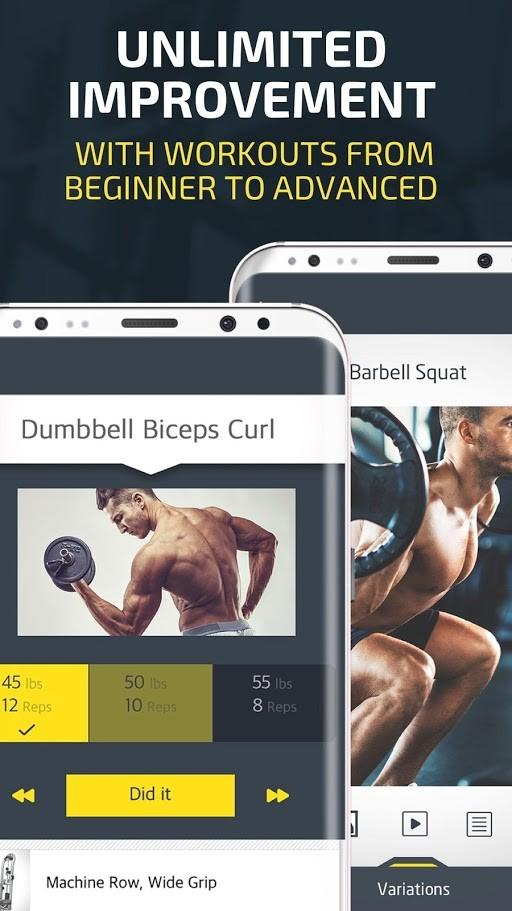 Gym Workout Premium 4.010 دانلود نرم افزار تمرینات بدنسازی اندروید