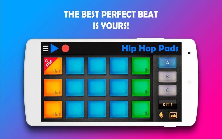 Hip Hop Pads FULL 3.11 دانلود نرم افزار آهنگسازی هیپ هاپ اندروید