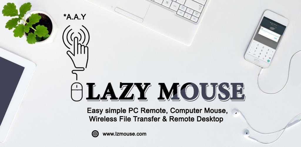 Lazy Mouse Pro – PC Remote 1.0.1.2 کنترل کامپیوتر با گوشی اندروید