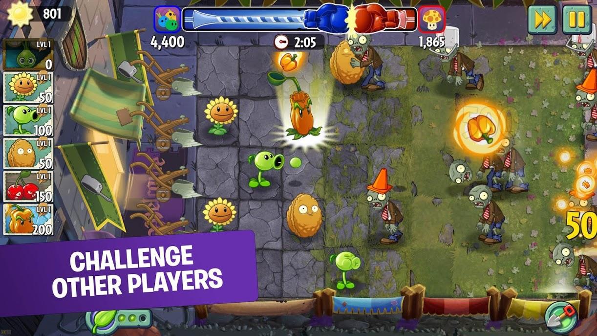 دانلود plants vs zombies 2 فارسروید