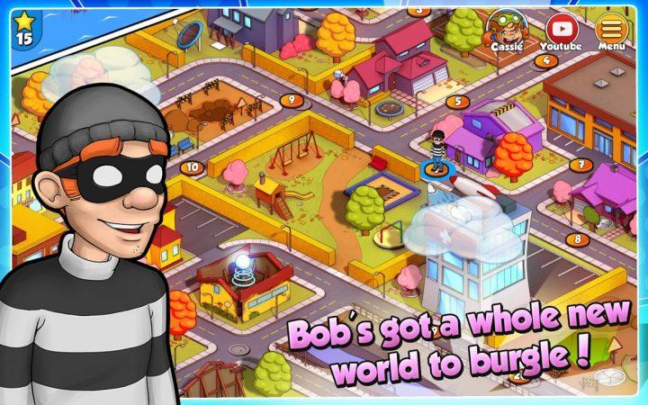 دانلود Robbery Bob 2: Double Trouble 1.6.8.11 بازی باب دزد 2 اندروید + مود
