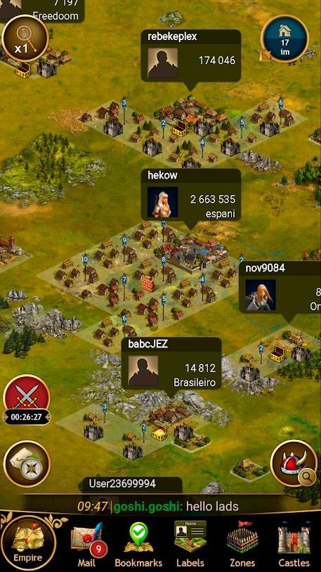 دانلود Seasons of War 8.0.14 بازی فصل های جنگ اندروید