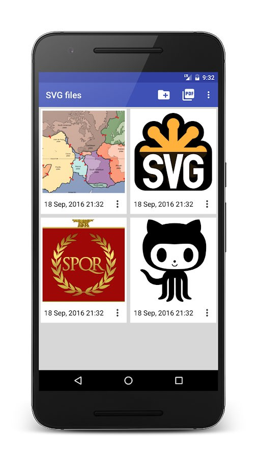 SVG Converter 1.9.1 دانلود نرم افزار تبدیل فایل SVG در اندروید