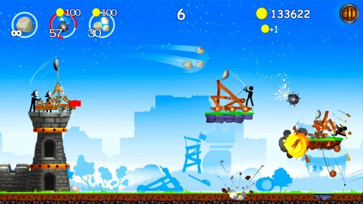 The Catapult 1.1.5 دانلود بازی منجنیق اندروید + مود