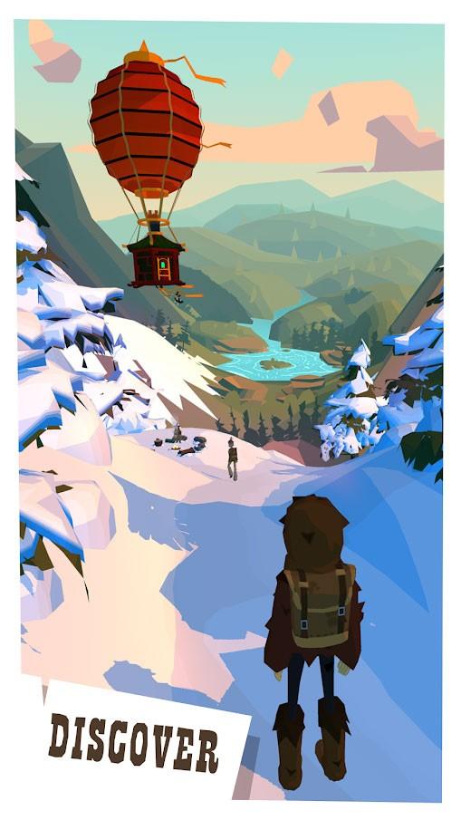 The Trail 9199 دانلود بازی ماجراجویی جهانگردی اندروید + مود + دیتا