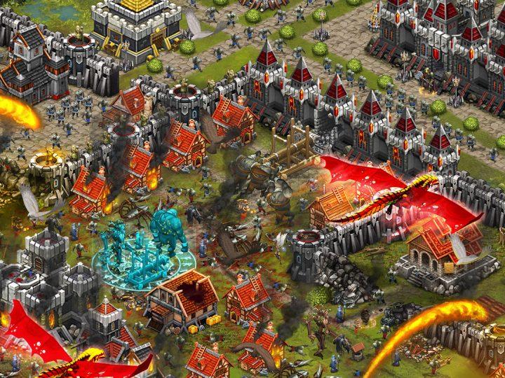 دانلود Throne Rush 5.15.2 بازی استراتژیک یورش تاج و تخت اندروید