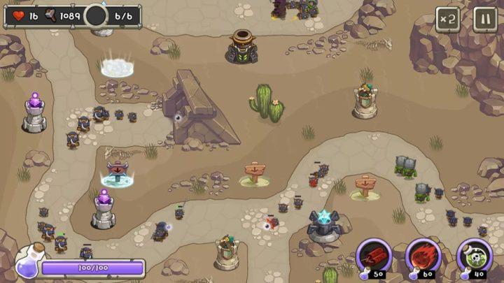 Tower Defense King 1.3.1 دانلود بازی پادشاه برج دفاعی اندروید + مود