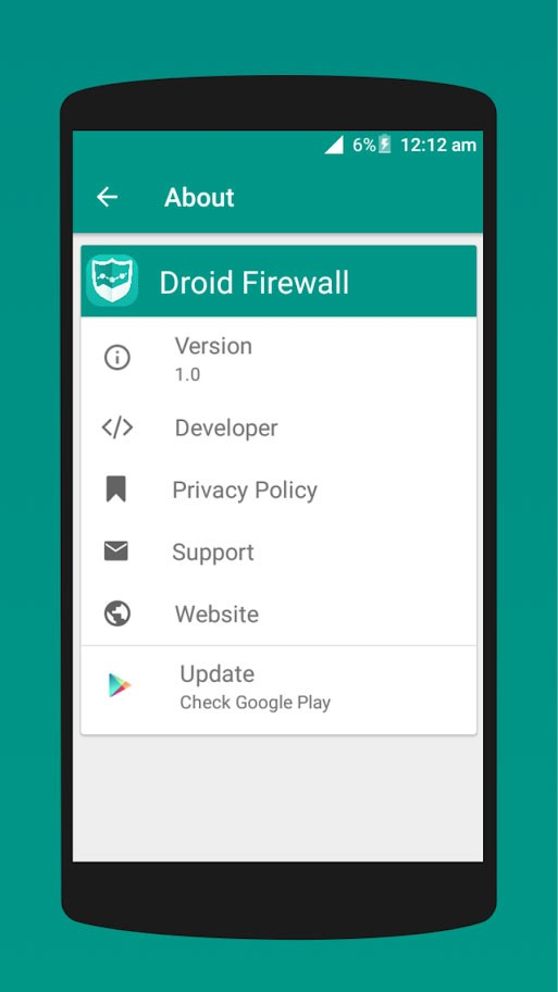 Droid Firewall Pro 1.4 برنامه فایروال اندروید بدون روت