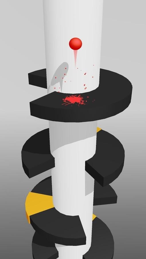 Helix Jump 1.1.4 دانلود بازی پرش مارپیچ اندروید + مود