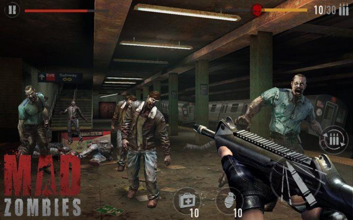 MAD ZOMBIES : Offline Zombie Games 5.9.0 دانلود بازی زامبی اندروید+مود