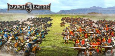 دانلود March of Empires 4.4.0k بازی پیشروی امپراطوری ها اندروید