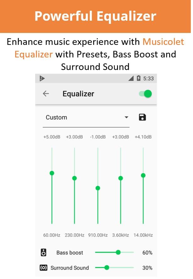 Musicolet Music Player 4.1 دانلود موزیک پلیر سبک و قدرتمند اندروید