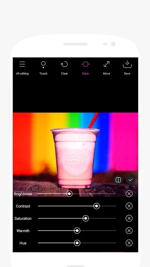 Point Blur (Partial blur) DSLR Pro 7.1.1 تار کننده پشت عکس اندروید