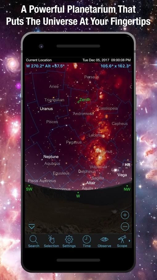 دانلود SkySafari 6 Pro 6.7.2.0 برنامه نجوم و ستاره شناسی اندروید
